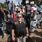 """Raccist League of the South Lieutenant"""" leads neo-nazis to assault crowed of peaceful protesters"""