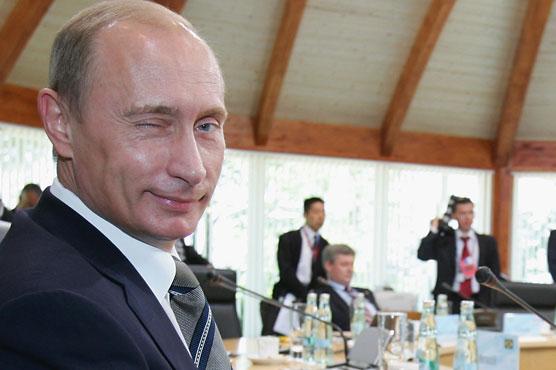 Putin - Not going anywhere